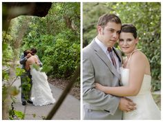 Bride and Groom Portraits. Greynold's Park North Miami