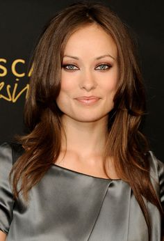 Olivia Wilde....a strong jawline and almond, vixen eyes