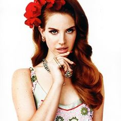 Lana Del Rey - her music is so cool.