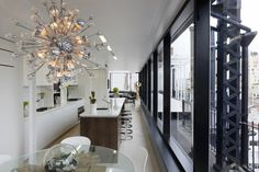 Sputnik Chandelier Design Ideas, Pictures, Remodel, and Decor Sputnik Chandelier, Chandelier Ceiling Lights, Chandelier Ideas, Kitchen Chandelier, Kitchen Lighting, Home Interior, Luxury Interior, Interior Design, Interior Photo