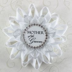 Bridal Shower Decor Mother of the Groom Gift by PetalPerceptions