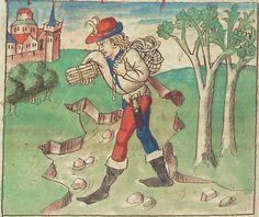 Antonius <von Pforr> Buch der Beispiele — Schwaben, um 1480/1490 Cod. Pal. germ. 85 Folio 110v