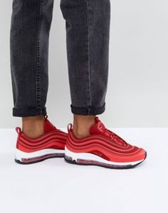 Nike Air Max 97 Ultra '17 Trainers In Red