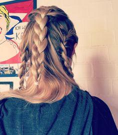 braids blonde