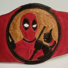 First stage of base colors on the Deadpool cuff. Now on to paint some tacos!! These should be available to ship in time for the movie premier!