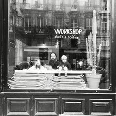 Workshop skate & coffee, Bordeaux. #skateshop #coffeeshop #bordeaux