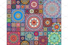 Ethnic Patterns, Tile Patterns, Welcome To My Page, Graphic Illustration, Mandala, My Arts, Tapestry, Quilts, Art Prints