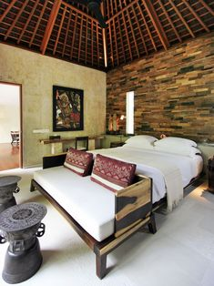 A modern Balinese style... @The Purist Villas & Spa in Ubud