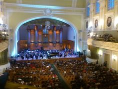 Mariinsky Orchestra on tour at the Great Hall of the Moscow Conservatory on 25 September 2012. Photo by @tuns_msk.