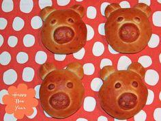 Milchbrot - Silvester Schweinderl zum Neujahrsfrühstück