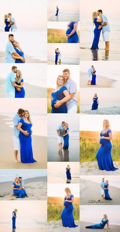 Sunset beach maternity photo session with expecting couple in Virginia Beach by Melissa Bliss Photography, Lifestyle Maternity Photographer