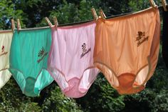 VintageStyle Days of the Week Panties  Set by sassygrannysknickers, $100.00
