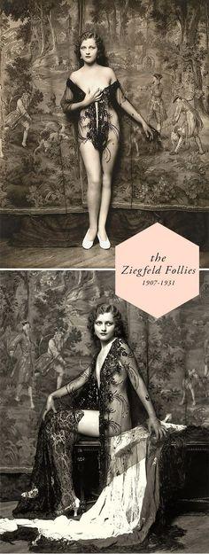 Ziegfeld Follies Costumes 1910s to the 1920s