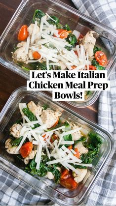 Lunch Meal Prep, Meal Prep Bowls, Make Ahead Meals, Quick Meals, Freezer Meals, Yummy Chicken Recipes, Healthy Recipes, Healthy Meals, Healthy Food