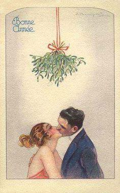 Sergio Bompard n- Vintage Christmas & Happy New Year