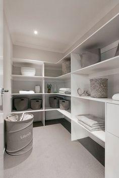 walk in linen cupboard