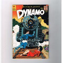DYNAMO #4 Grade 7.0 Silver Age THUNDER AGENTS tie-in from Thunder Comics!  http://www.ebay.com/itm/-/291619689387?roken=cUgayN&soutkn=pLxOTR