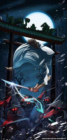 Samurai Jack by jennyisdrawing
