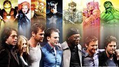 The Avengers Cast: Robert Downey Jr. (Iron Man), Scarlett Johansson (Black Widow), Chris Hemsworth (Thor), Chris Evans (Captain America), Samuel L. Jackson (Nick Fury), Jeremy Renner (Hawkeye), Mark Ruffalo (Hulk)