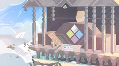 Steven Crewniverse Behind-The-Scenes Universe: Part 1 of a selection of Backgrounds from the...