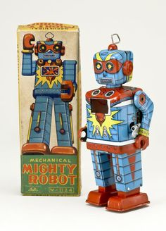 Tin Wind-up Robot