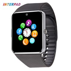 New Price $11.88, Buy Wearable Devices GT 08 Smart Watch Andriod With Fitness Tracker Smart Clock Sync SMS Dial Call Passometer Smartwatch Gt08
