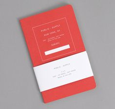 PUBLIC-SUPPLY: Notebook 02, Red