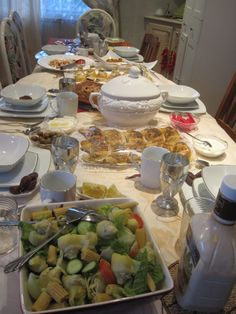 Ramadan Iftar Tables from around the world ... Send me yours to add to the album!