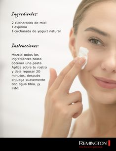 Prepara esta deliciosa mascarilla casera y exfolia tu piel suavemente. Plus: ¡puede ayudarte a combatir granitos! Tips, Smooth Skin, Homemade Face Pack, Skin Care, Maquiagem, Advice, Hacks