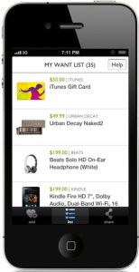"""SimpleHoney have created """"the perfect app for wish list commerce."""" i want wish list"""