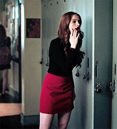 Madelaine Source Cheryl Blossom Riverdale, Face Claims, Cherry, Mini Skirts, Fashion, Moda, Fashion Styles, Mini Skirt, Prunus