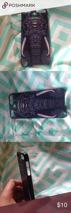 🔥NEW Ipod 5th gen 3D indie elephant 🐘 phone case Trippy elephant 🐘 iPod touch 5th generation phone case. Brand new never used. INDIE STYLE CASE!! Urban Outfitters Accessories Phone Cases