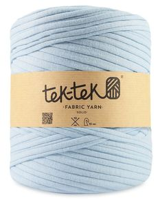 TEK TEK TSHIRT YARN Cotton Knitting Crochet Weaving Rug - Light Blue in Crafts, Knitting, Wool & Yarn | eBay