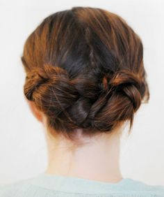 Braided Updos - Easy Braid Updo Styles