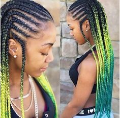 2019 natural hair trends are all about stepping outside of your natural hair comfort zone. Check out the top 9 natural hair trends we love for all naturals! Braided Hairstyles For Black Women Cornrows, African Braids Hairstyles, Braids For Black Hair, Weave Hairstyles, Braided Mohawk, Braided Ponytail, Ponytail Hairstyles, Pretty Hairstyles, Girl Hairstyles