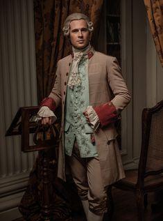 Outlander David Berry as Lord John Grey Diana Gabaldon Outlander Series, Outlander Casting, Outlander Tv Series, Outlander Quotes, Outlander 3, Lord John Grey Outlander, Voyager Outlander, Tartan, Outlander Costumes