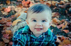 6 month baby boy fall shoot Meghan Brady Photography meghan.brady@aol.com