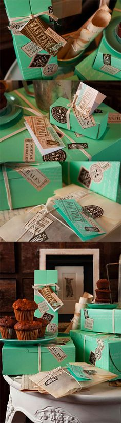 MARYPAT Pastry Shop via Lovely Package Beautiful color PD