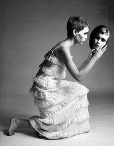 Mia Farrow by Richard Avedon, New York, 1966