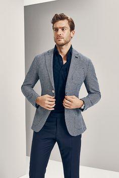メンズファッションブログ, ファッションブログ, ファッション衣装, グレーのスーツ, スマートスタイル, 限られたコレクション, 髪,  紳士スタイル, 男