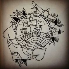 Image result for old school tattoo sleeve