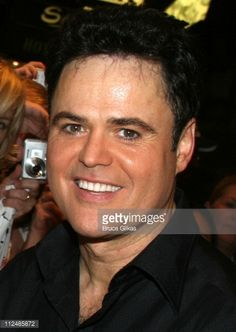 """Donny Osmond's First Night in Disney's """"Beauty and the Beast"""" Photos and Images 