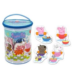 Buy Peppa Pig Bath Time Puzzle - Toys - Boots London Shopping, Puzzle Toys, Peppa Pig, Bath Time, Lunch Box, Boots, Cards, Stuff To Buy, Crotch Boots