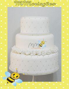 bolo de casamento feito em e.v.a