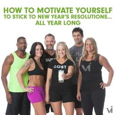 How to Motivate Yourself to Stick to New Year's Resolutions…All Year Long | ViSalus BlogViSalus Blog
