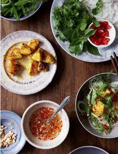 Cha Ca La Vong (Hanoi Turmeric Fish) by My Cooking Hut at http://www.mycookinghut.com