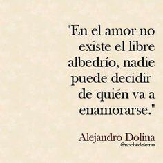 Alejandro Dolina. En el amor..,