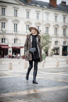 Parka coat / Anna Sofia - Style Plaza