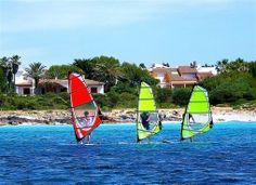 Windsurf Menorca #menorcanatural #windsurfenmenorca