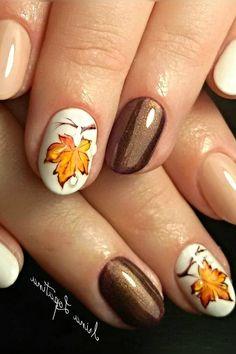 Fall Toe Nails, Autumn Nails, Thanksgiving Nails, Fall Nail Designs, Yellow Nails, Aga, Nail Art, Makeup, Beauty
